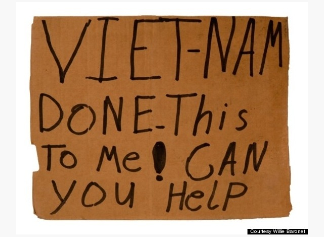 This Artist Has Spent $7,000 On Homeless People's Cardboard Signs For Really Good Reason